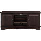 Walker Edison 60 in. Wood TV Stand with Storage Doors