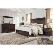 Signature Design by Ashley Brynhurst Panel Bed 5 pc. Set