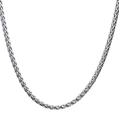 INOX Stainless Steel Wheat Chain 22 in.
