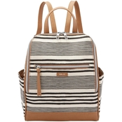Relic Kinsley Backpack Black And White Stripe