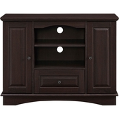 Walker Edison 42 in. Traditional Highboy Wood TV Stand