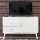 Walker Edison 52 in. Mid Century Modern TV Stand