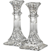 Waterford Lismore 8 in. Candlestick 2 pc. Set