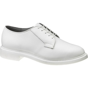 Bates Men's White Leather Oxfords
