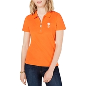 Tommy Hilfiger Zip Polo Top