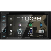 Kenwood DDX376BT 6.2 in. Double DIN In Dash Receiver Bluetooth and SiriusXM Ready