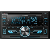 Kenwood Double-DIN In-Dash AM/FM CD Receiver with Bluetooth & SiriusXM Ready