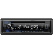 Kenwood Single-DIN In-Dash CD Receiver with Bluetooth