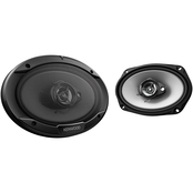 Kenwood Sport Series 6 x 9 in. 3 Way, 400 Watt Coaxial Speakers
