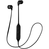 In-Ear Headphones with Microphone & Bluetooth (Black)