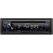 Kenwood Single-DIN In-Dash CD Receiver with Bluetooth and SiriusXM