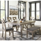 Signature Design by Ashley Aldwin Dining Room, 6 pc. Set