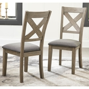 Aldwin Dining Room Chairs 2pk