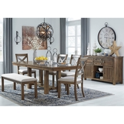 Signature Design by Ashley Moriville 6 pc. Dining Set