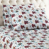 Micro Flannel Printed Sheet Set