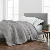 EcoPure® Cotton Filled Full/Queen Dark Grey Blanket