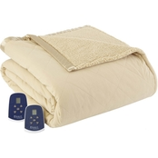 Micro Flannel® Reverse to Sherpa Electric Blanket