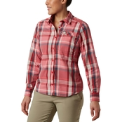 Columbia Silver Ridge Plaid Long Sleeve