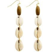 Panacea Puka Shell Linear Earrings