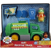 Jada Toys Ryan's World Recycle Truck with Gus Feature Vehicle