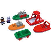 Aquaplay Boat Pack with 2 Figures
