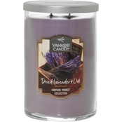 Yankee Candle Dried Lavender and Oak 2 Wick Tumbler Candle