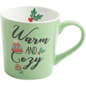 Gibson Home Gleeful Warm and Cozy Outside Mug