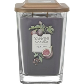 Yankee Candle Fig and Clove 2 Wick Large Square Candle