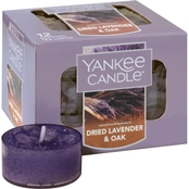 Yankee Candle Dried Lavender and Oak Tea Light Candles