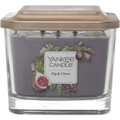 Yankee Candle Fig and Clove 3 Wick Medium Square Candle