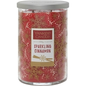 Yankee Candle Merry & Bright Sparkling Cinnamon Large 2-Wick Square Candle