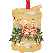 ChemArt Christmas Drum Holiday Design Ornament