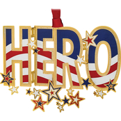 ChemArt HERO Americana Design Ornament