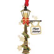 ChemArt Holiday Lamp Post Ornament