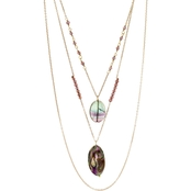 Panacea Pre-Layered Abalone 15 in. Necklace
