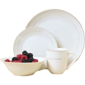 Gibson Home Gold Moon Dinnerware 16 pc. Set