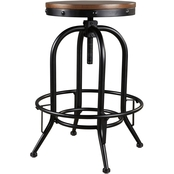 COMPONENT Signature Design by Ashley Valebeck Swivel Metal Barstool