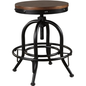 COMPONENT Signature Design by Ashley Valebeck Swivel Metal Counter Stool