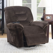 Furniture of America Ovar Power Recliner