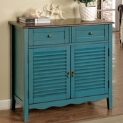 Furniture of America Oleida Shoe Cabinet