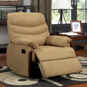 Furniture of America Pleasant Valley Microfiber Recliner