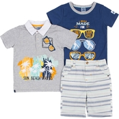 Little Lads Infant Boys I Was Made For Sunny Days 3 pc. Set