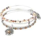 Alex and Ani Star of Venus Bangle Bracelet 3 pc. Set