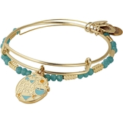 Alex and Ani Color Infusion Beach Please 2 pc. Charm Bangle Bracelet Set