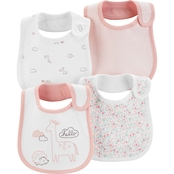 Carter's 4-Pack Animal Printed Teething Bibs