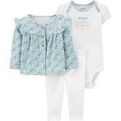 Carter's Infant Girls Footed Cardi 3 pc. Set