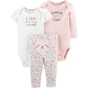 Carter's Infant Girls Bear Little Character 3 pc. Set