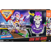 Spin Master Monster Jam Grim Takedown Playset
