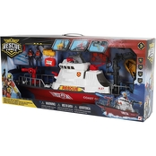 Rescue Squad Coast Guard Mega Fire Boat Play Set