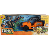 Chap Mei Dino Valley 6 Dino Catch Vehicle Playset